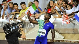 Justin Gatlin © imago images / PanoramiC