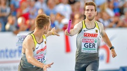 Tobias Lange (r.) © imago images / Beautiful Sports