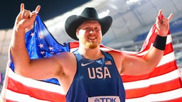 Ryan Crouser aus den USA © imago images / Beautiful Sports