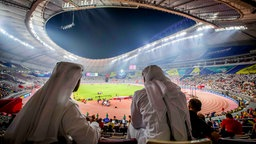 Zuschauer im Khalifa International Stadium in Doha © imago images / Inpho Photography