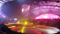 Abschluss-Zeremonie der Asienspiele 2006 in Doha © imago images / ZUMA Press
