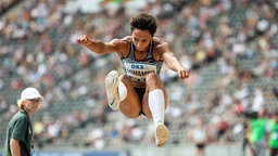 Malaika Mihambo © imago images / Beautiful Sports Foto: R. Schmitt