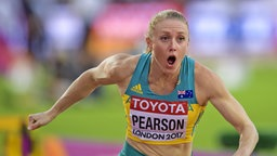 Sally Pearson © picture alliance/KEYSTONE Fotograf: JEAN-CHRISTOPHE BOTT