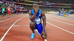 Justin Gatlin © picture alliance / empics Fotograf: Adam Davy