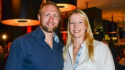 Robert Harting und Julia Fischer © picture alliance / BREUEL-BILD